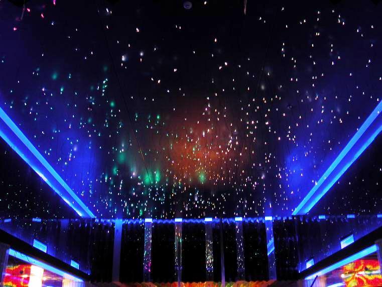 Натяжные звездные потолки