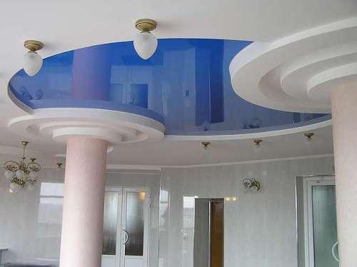 Качественные и красивые натяжные потолки