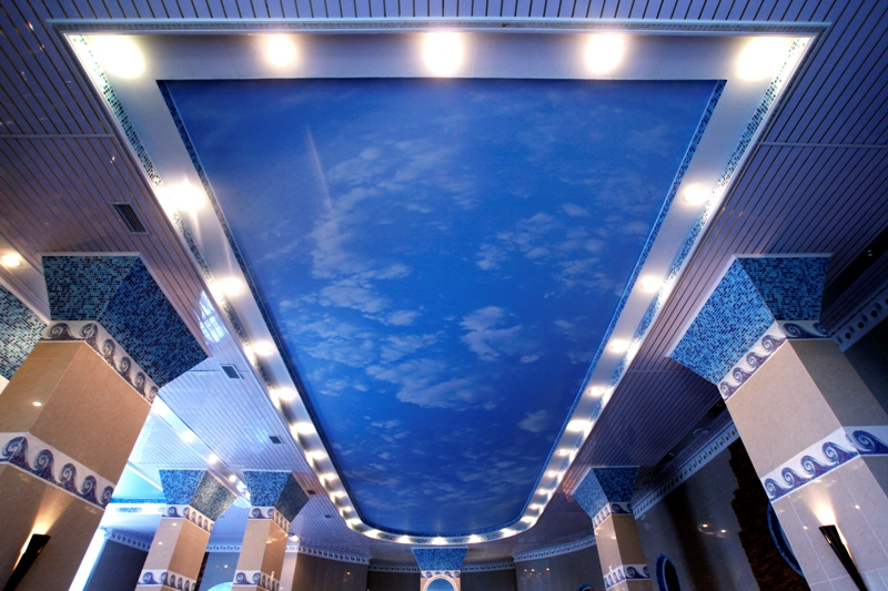 Светодиодные светильники для натяжных потолков