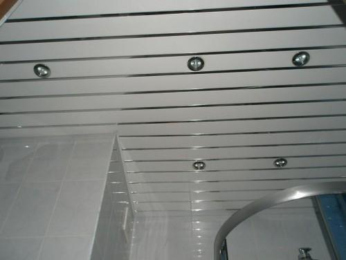 Голландские реечные натяжные потолки