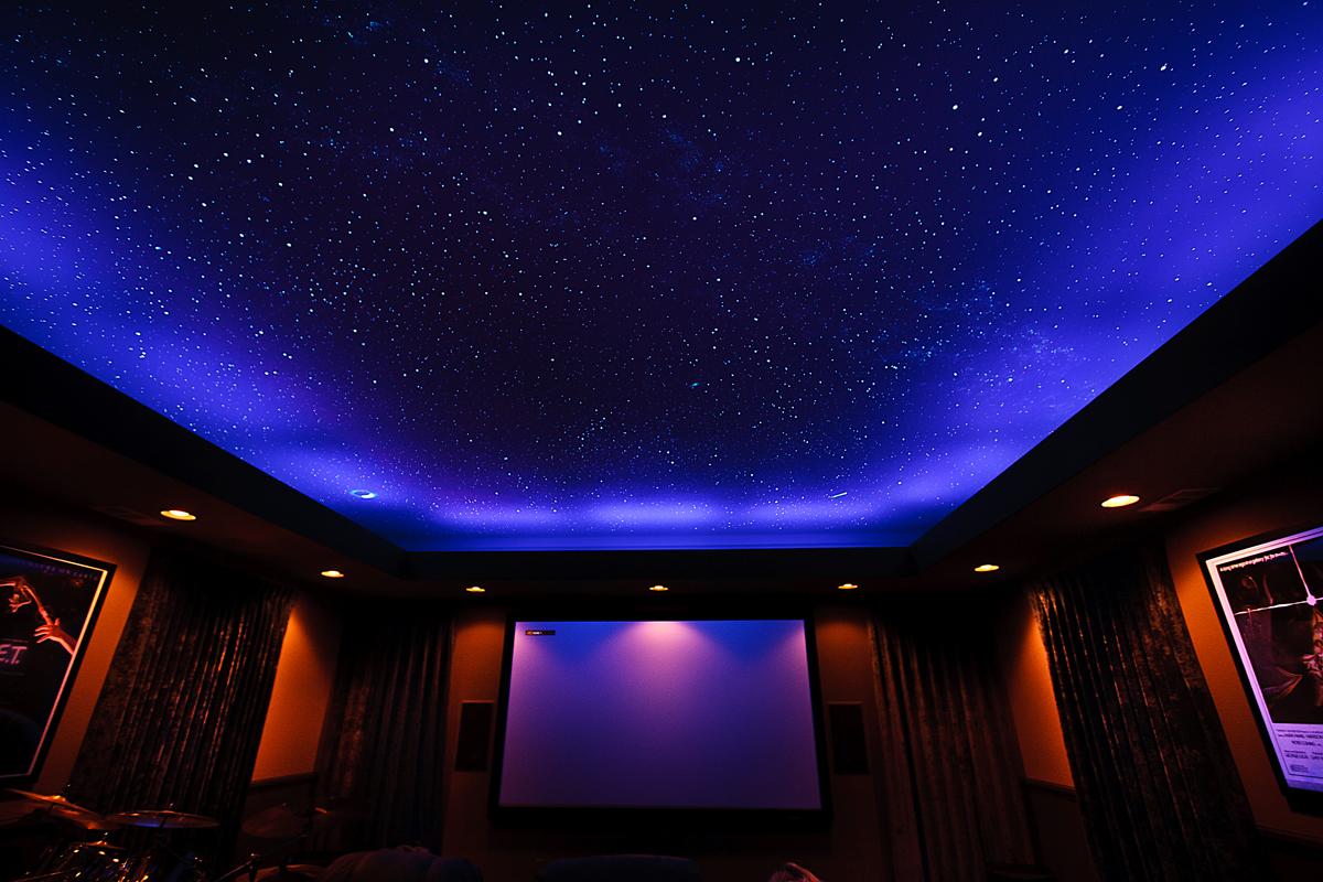"""Подвесной потолок """"Звездное небо"""""""